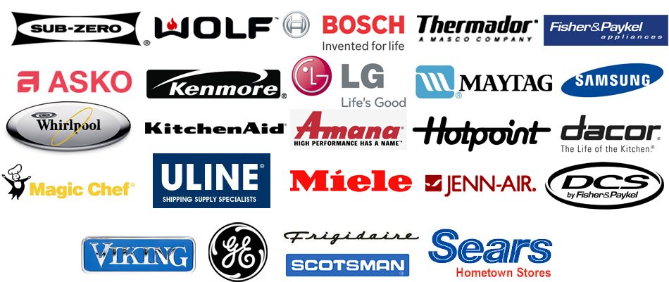 Brands A List Of Brands We Service In Orange County Ca